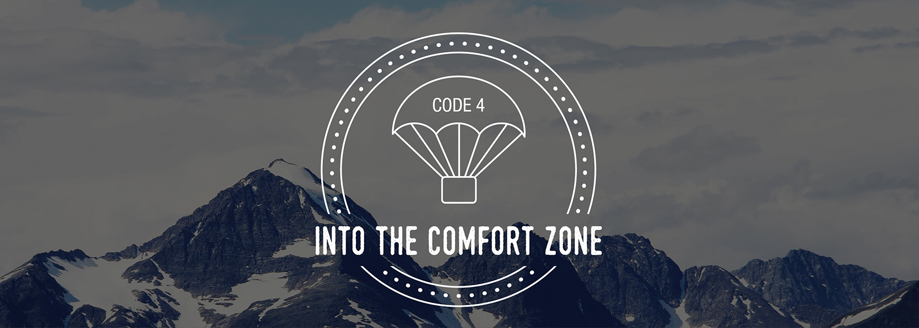 Code 4: Into The Comfort Zone